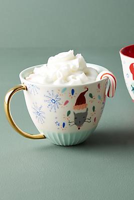 Slide View: 1: Holiday Spirit Mug