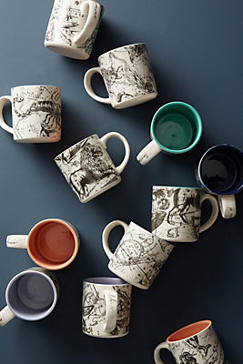 Slide View: 3: Astrology Chart Mug