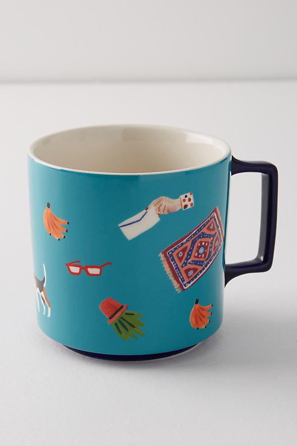 Sarulla Mug - Turquoise, Size Mug