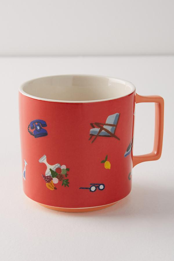 Sarulla Mug - Rose, Size Mug