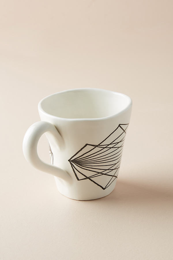 Vector Mug - Black & White, Size Mug