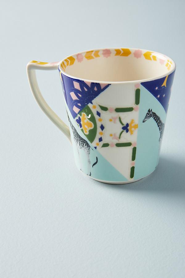 Narrative Mug - Turquoise, Size Mug