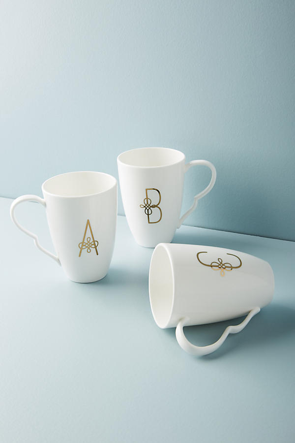 Scripted Monogram Mug