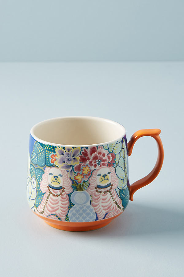 Eastern Animal Mug - Orange, Size Mug