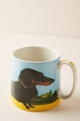 Dog A Day Mug by Sally Muir