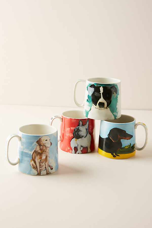 Dog-a-Day Mug | Anthropologie