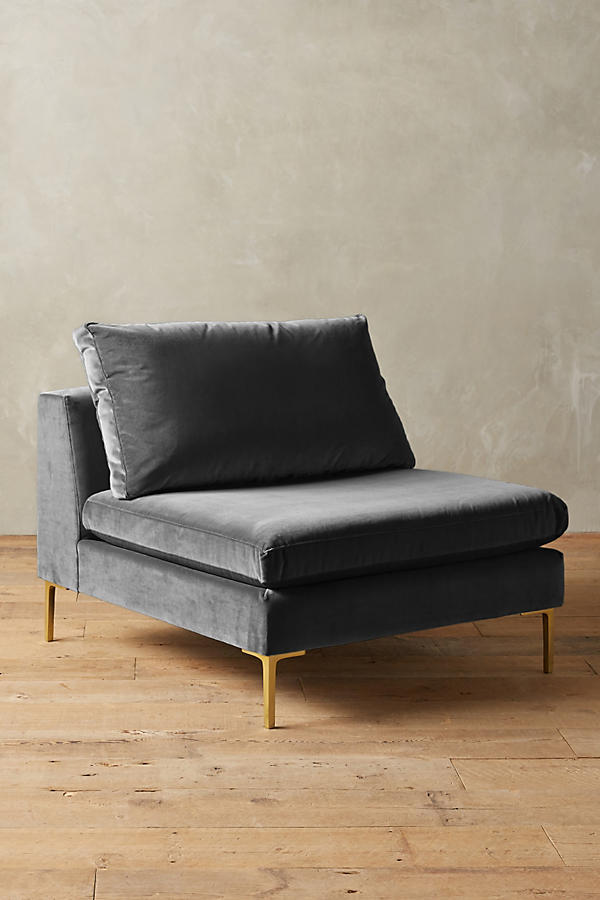Slide View: 1: Velvet Edlyn Chair