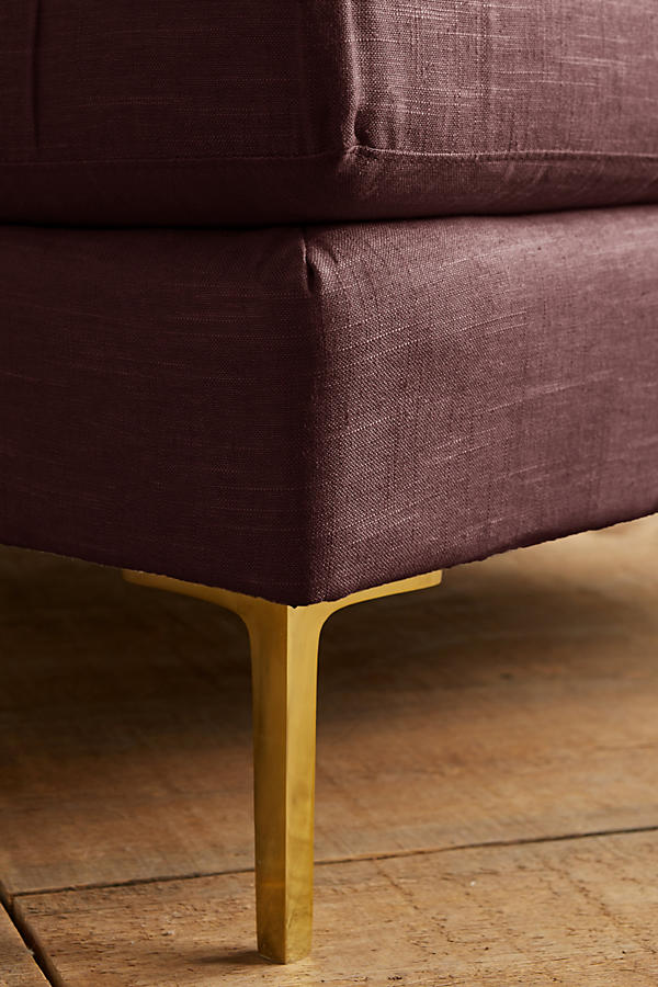 Slide View: 3: Linen Edlyn Chair