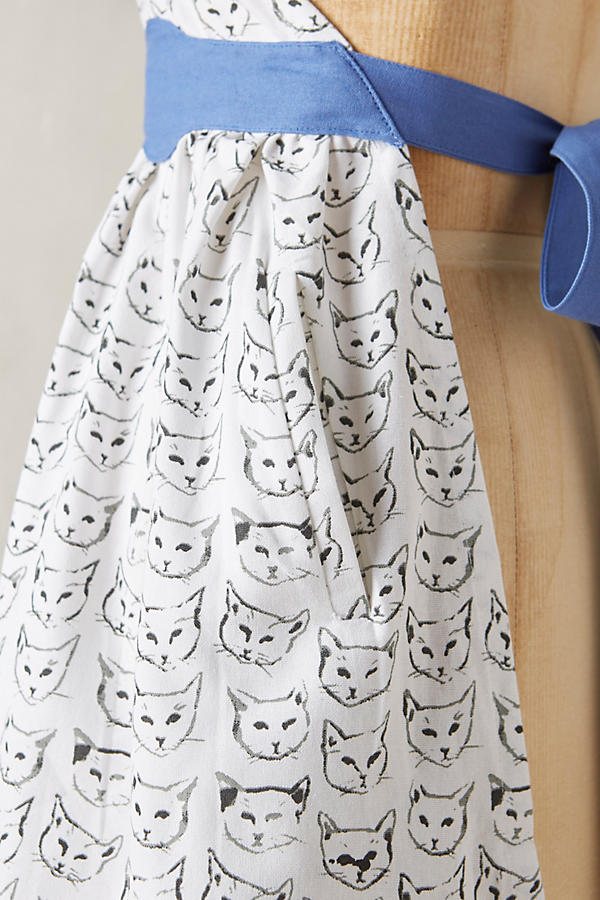Slide View: 2: Cat Study Apron