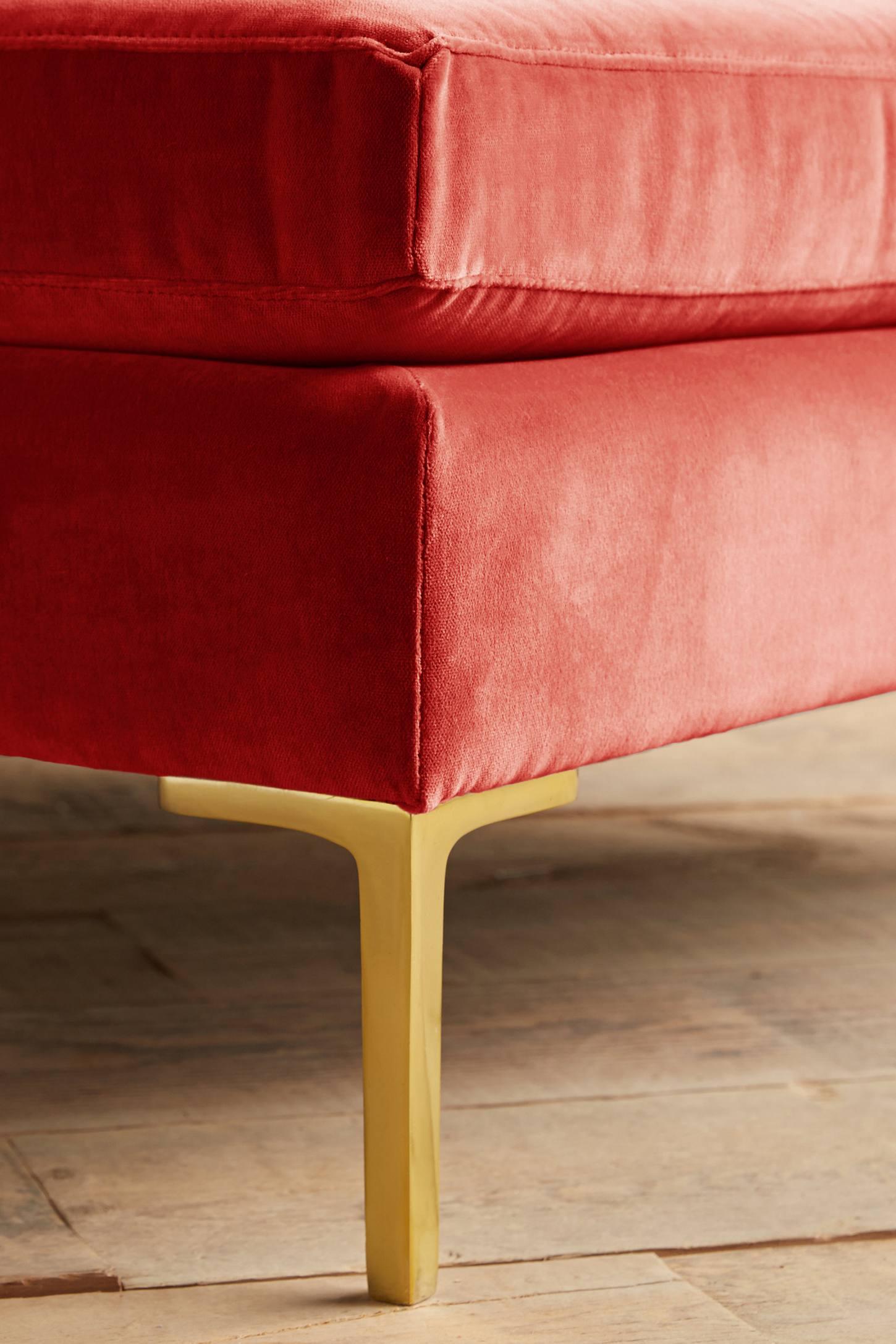 velvet edlyn grand ottoman anthropologie. Black Bedroom Furniture Sets. Home Design Ideas