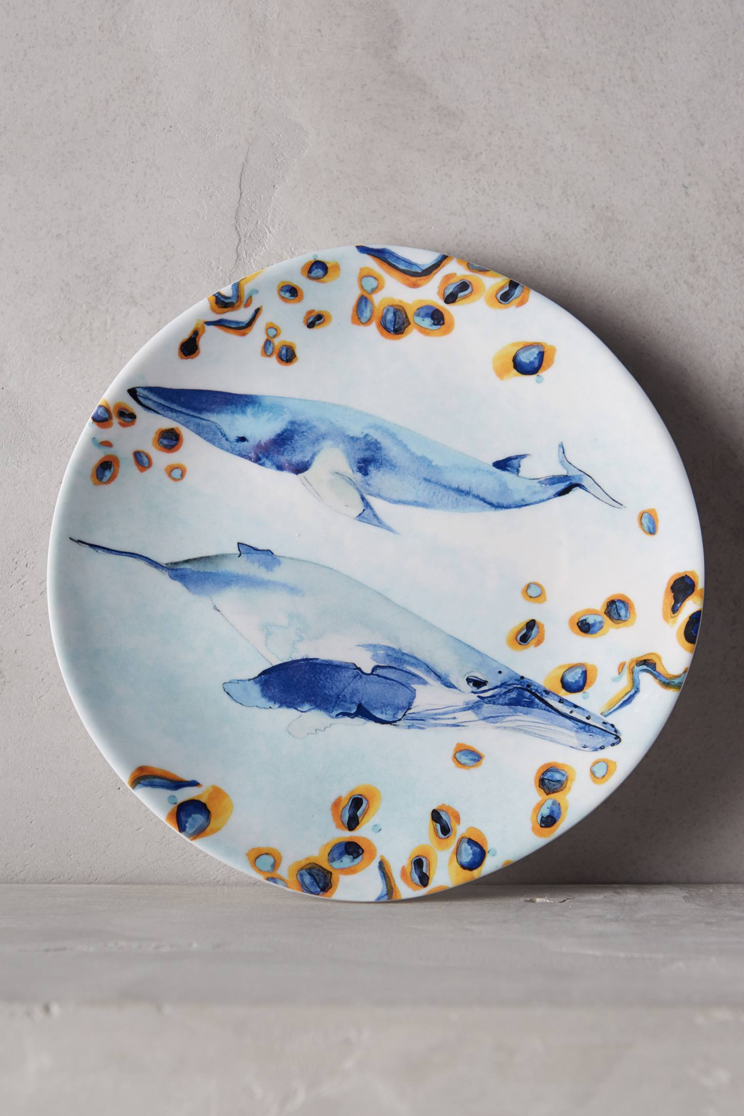 Under the sea melamine canape plate anthropologie for What is a canape plate