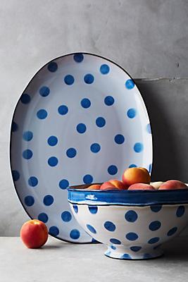 Cornflower Platter