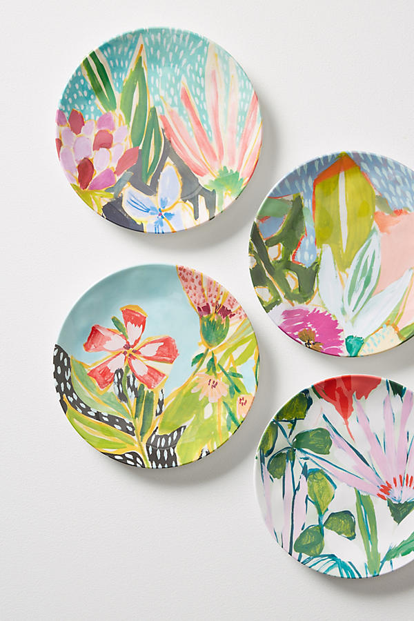 Slide View: 2: Lulie Wallace Melamine Canape Plate