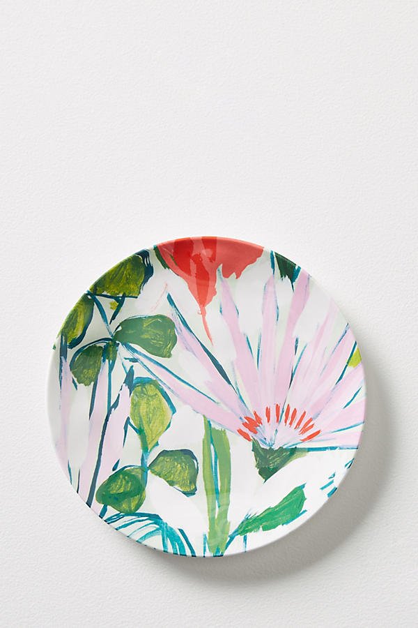 Slide View: 1: Lulie Wallace Melamine Canape Plate