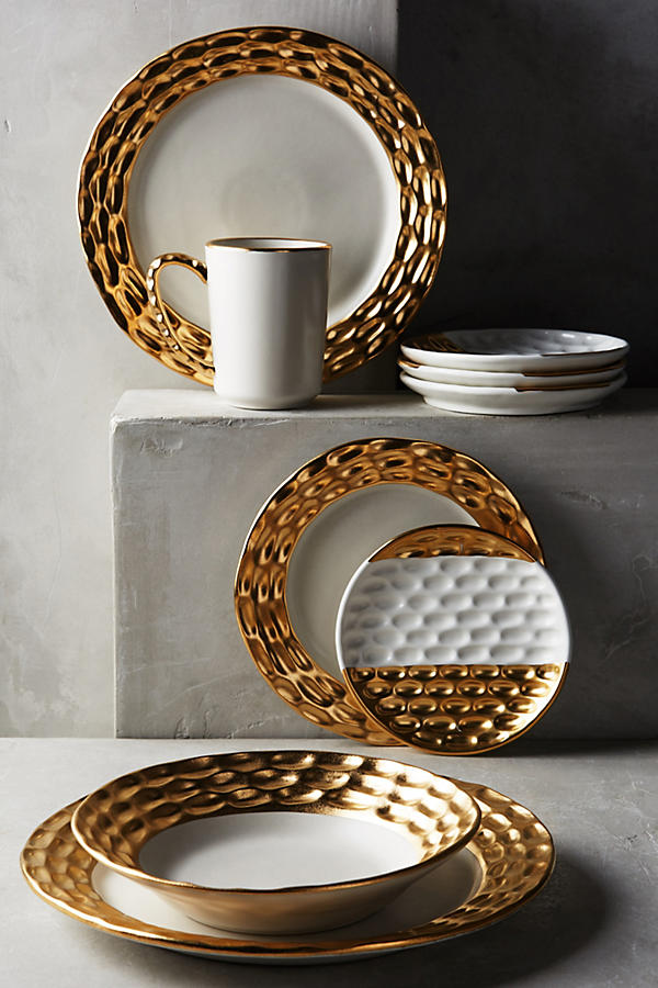 Truro canape plate set anthropologie for Calligrapher canape plate anthropologie
