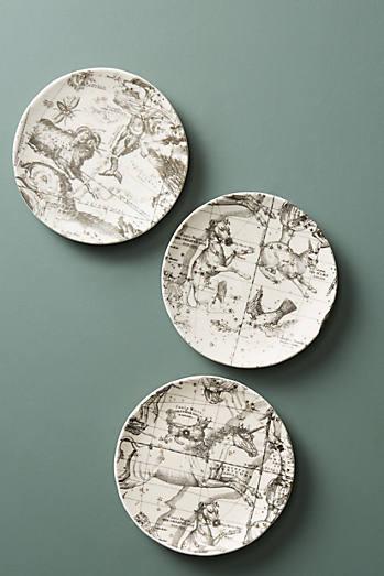 Shop side plates salad dessert plate sets anthropologie for Linea carta canape plates