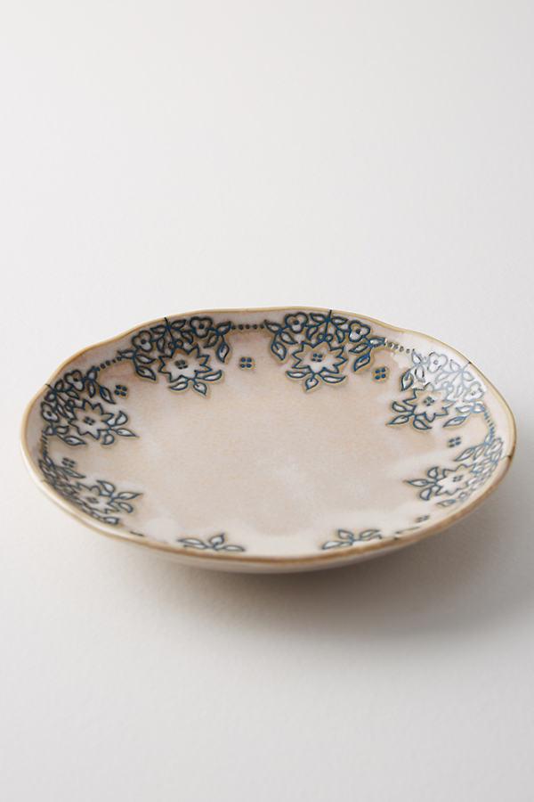 Giada Canape Plate - White, Size Canape Pla