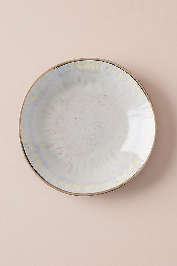 Farina Side Plate - Oyster, Size Canape Pla