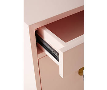 Slide View: 4: Lacquered Regency Nightstand
