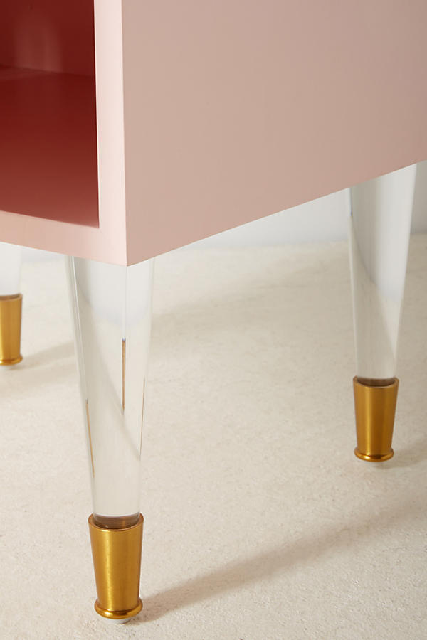 Slide View: 6: Lacquered Regency Nightstand