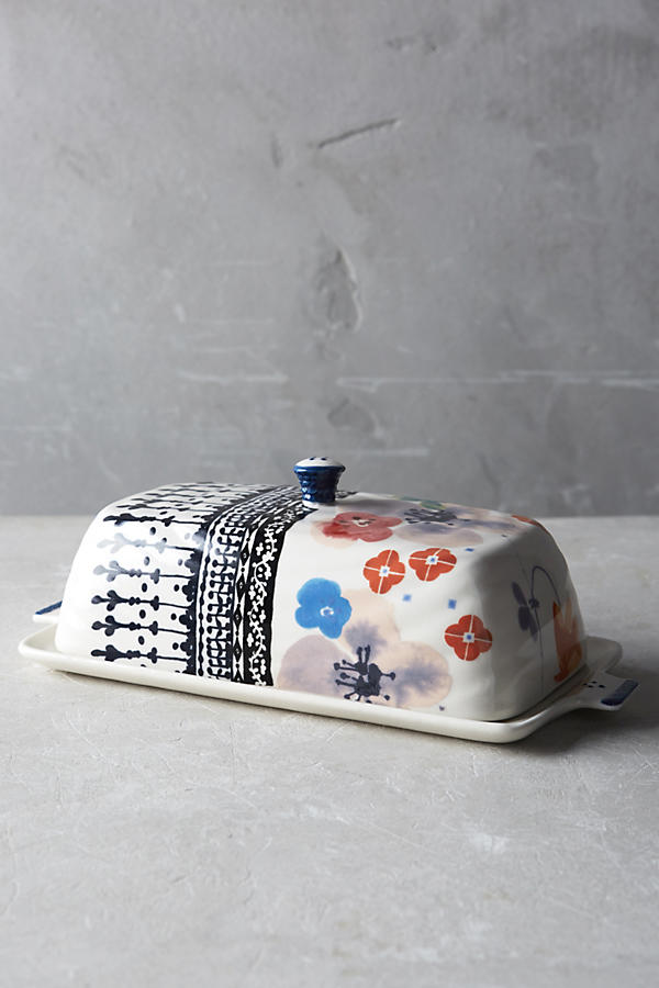Slide View: 1: Isidre Butter Dish