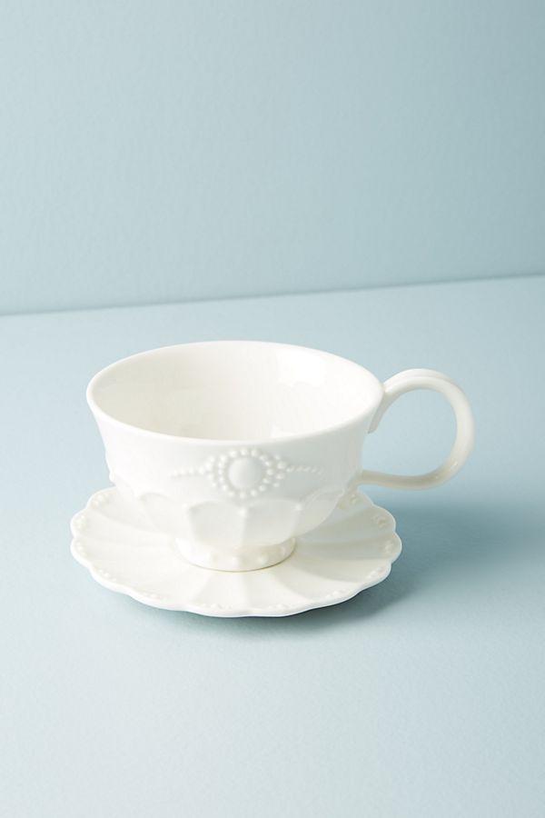 Ville Fleur Cup Saucer Anthropologie