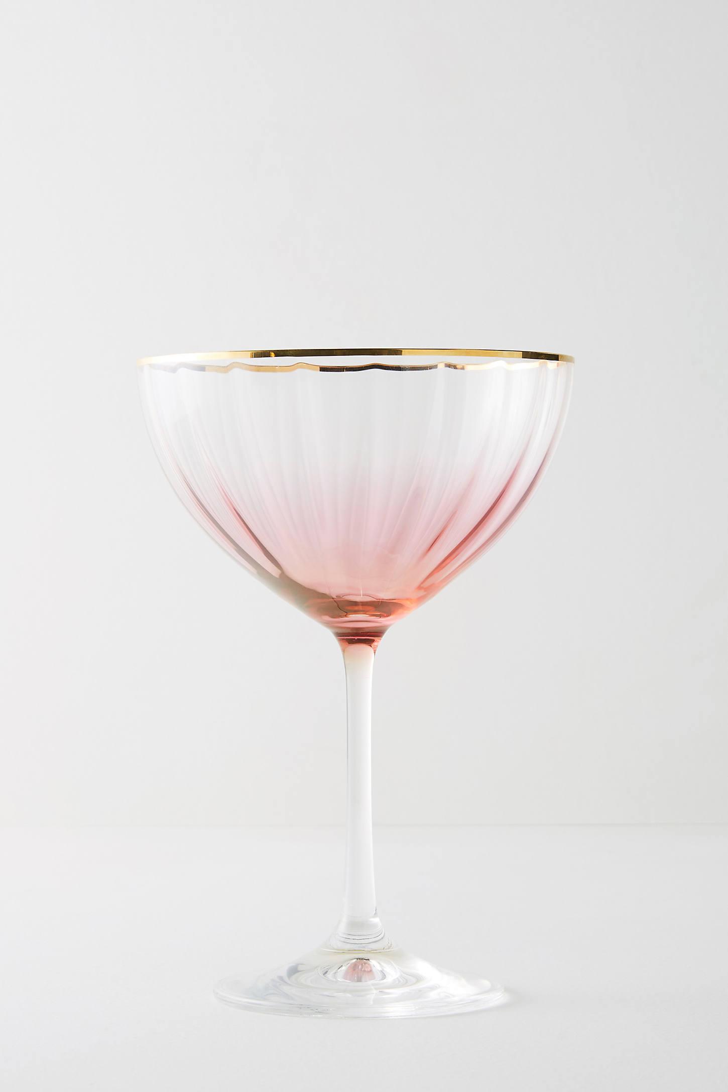Waterfall Coupe Glass