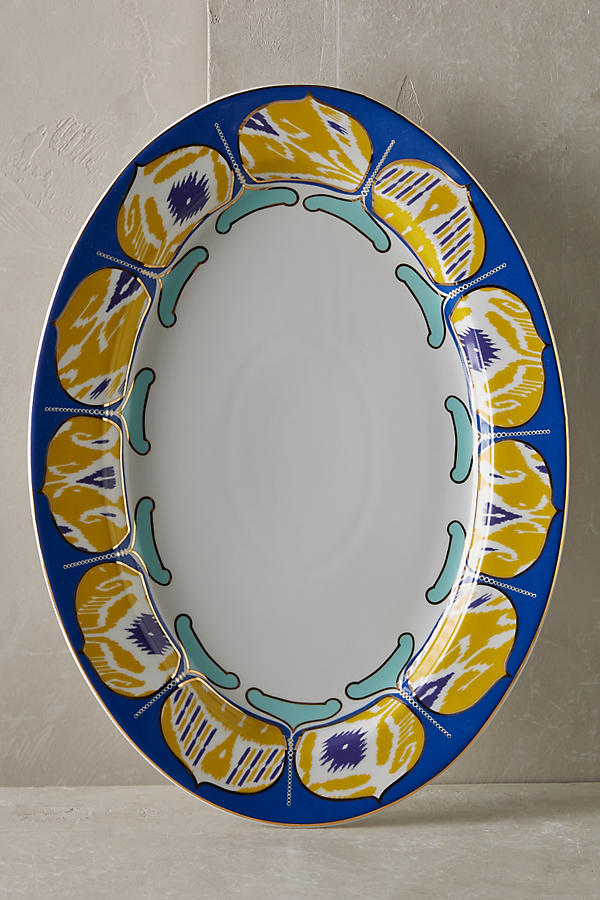 Slide View: 1: Forbury Large Serving Platter