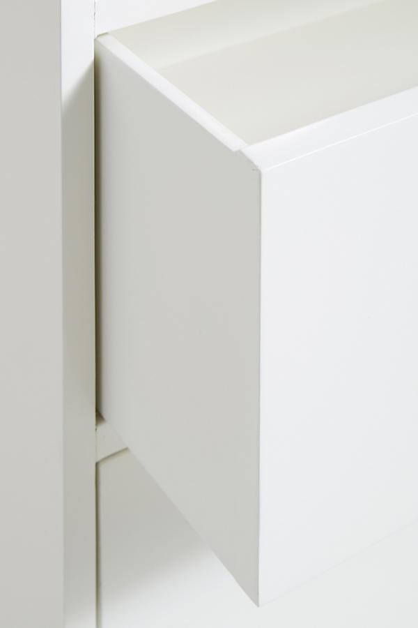 Slide View: 5: Lacquered Regency Three-Drawer Dresser