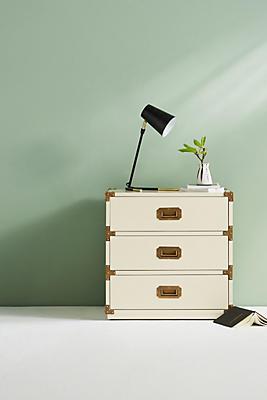 Lacquered Wellington Three-Drawer Dresser
