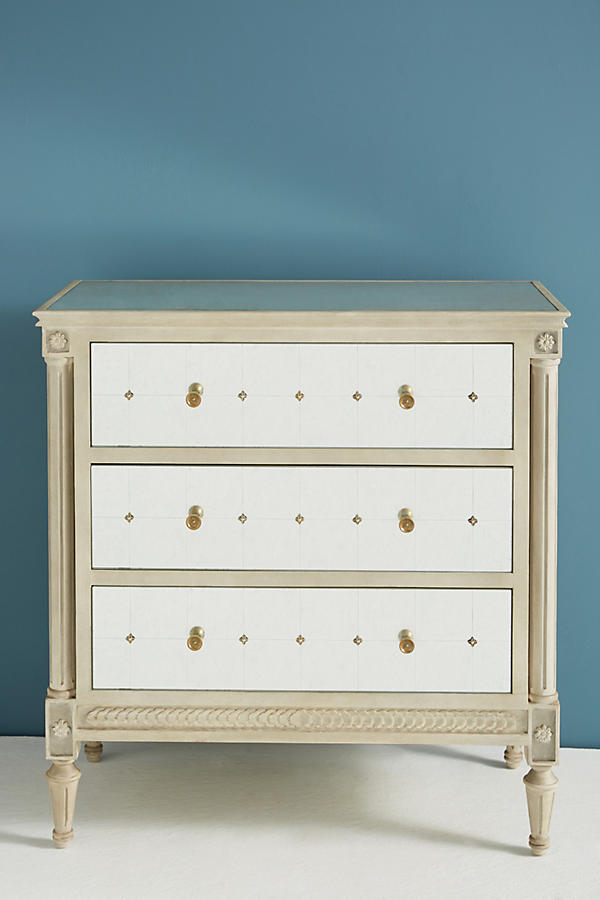 Slide View: 2: Mirelle Three-Drawer Dresser