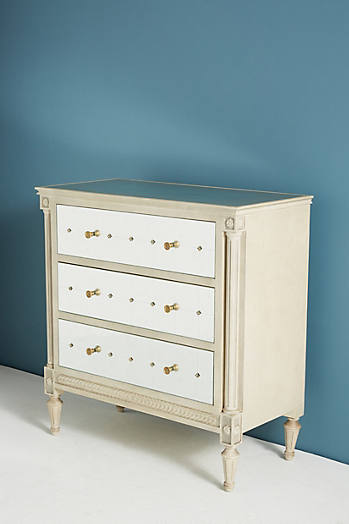 Slide View: 3: Mirelle Three-Drawer Dresser