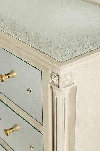 Slide View: 4: Mirelle Three-Drawer Dresser