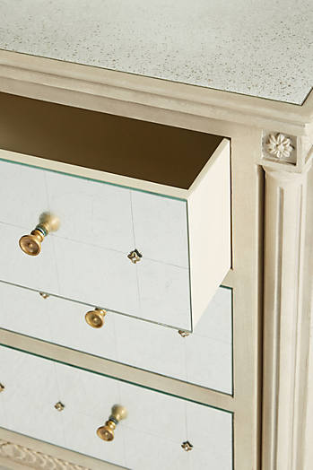 Slide View: 5: Mirelle Three-Drawer Dresser