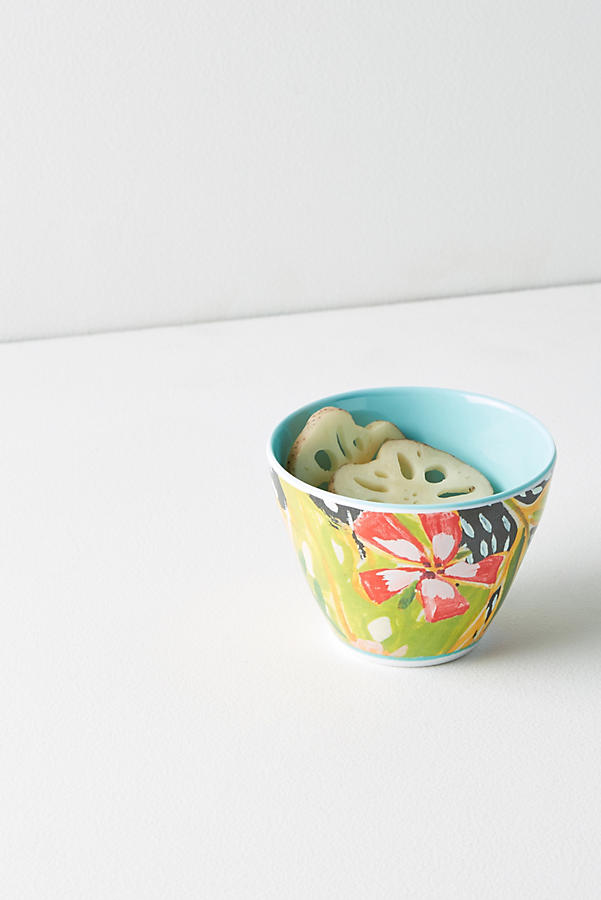 Slide View: 1: Lulie Wallace Melamine Nut Bowl