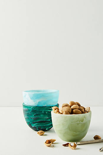 Nashi Home Ocean Swirl Nut Bowl