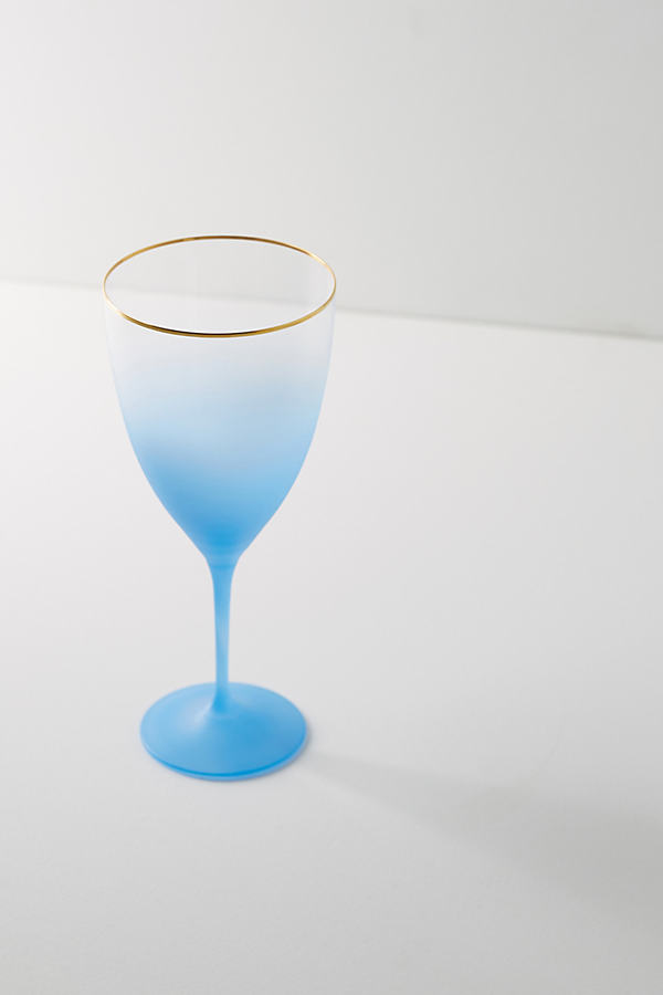 Dobra Flute Glass - Blue, Size Flute