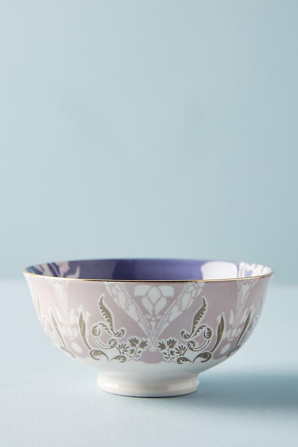 Evanie Tidbit Bowl - Lilac, Size Nut Bowl