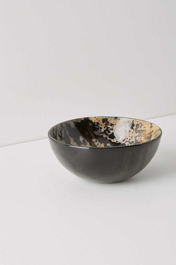 Astrid Nut Bowl - Black, Size Nut Bowl