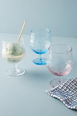 Slide View: 2: Liah Textured Wine Glass