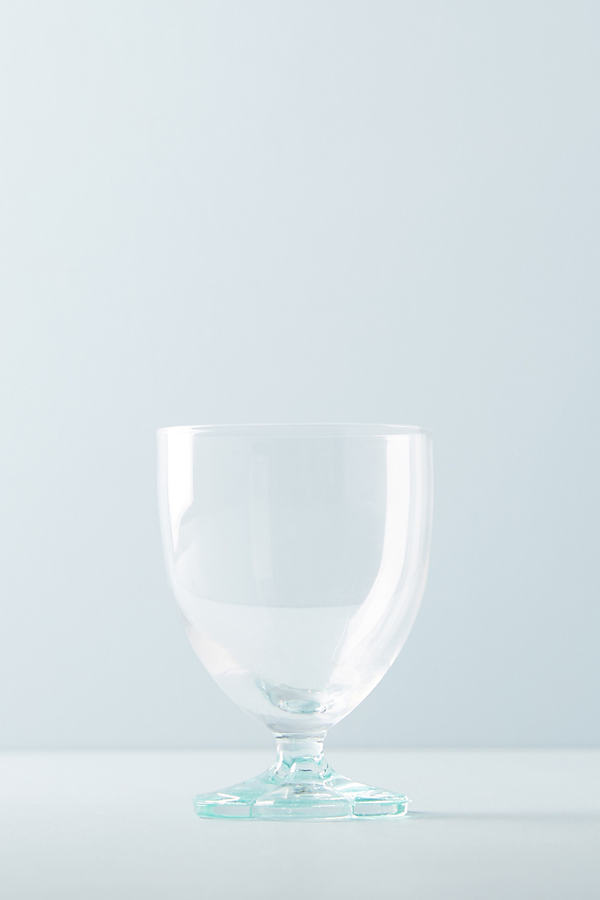 Delia Wine Glass - Hawaiian Blue, Size Red Wine