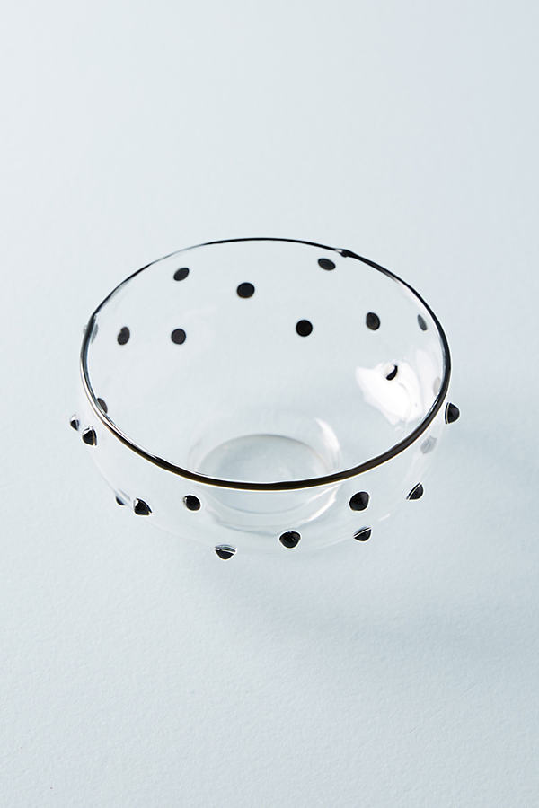 Abina Nut Bowls - Black, Size Nut Bowl
