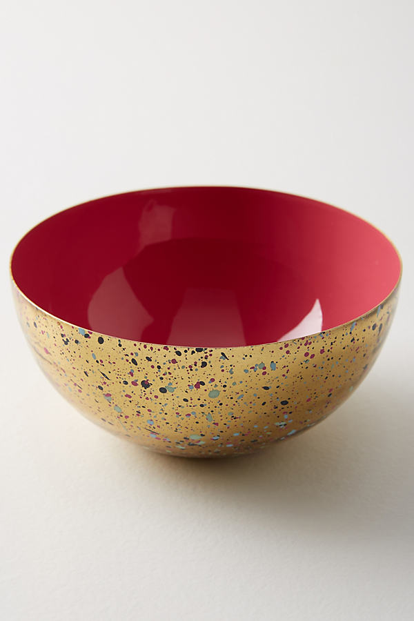 Sossi Nut Bowl - Light Red, Size Nut Bowl