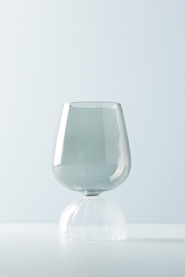 Marguerite Wine Glass - Light Grey, Size Red Wine