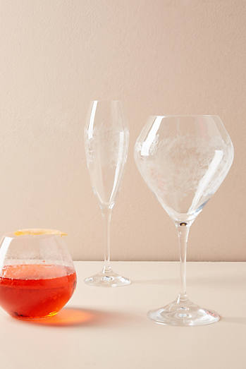 glassware anthropologie