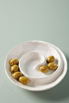 Jasmine Olive Bowl by Anthropologie
