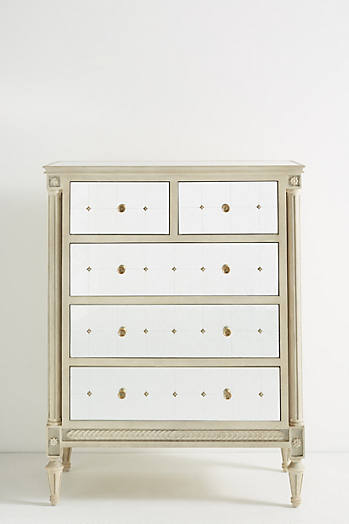 Slide View: 2: Mirelle Five-Drawer Dresser