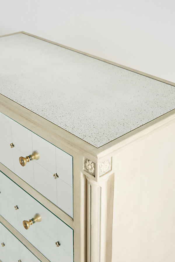 Slide View: 4: Mirelle Five-Drawer Dresser