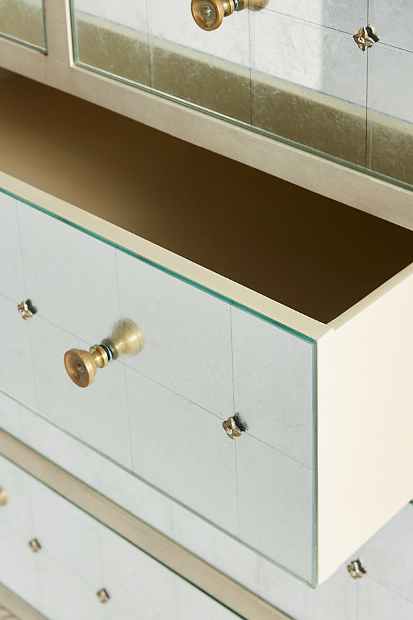 Slide View: 6: Mirelle Five-Drawer Dresser
