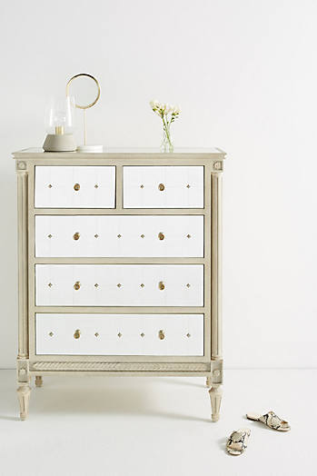 Slide View: 1: Mirelle Five-Drawer Dresser